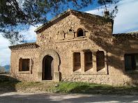 La façana de llevant de la Casa del Masover de Cal Mercader