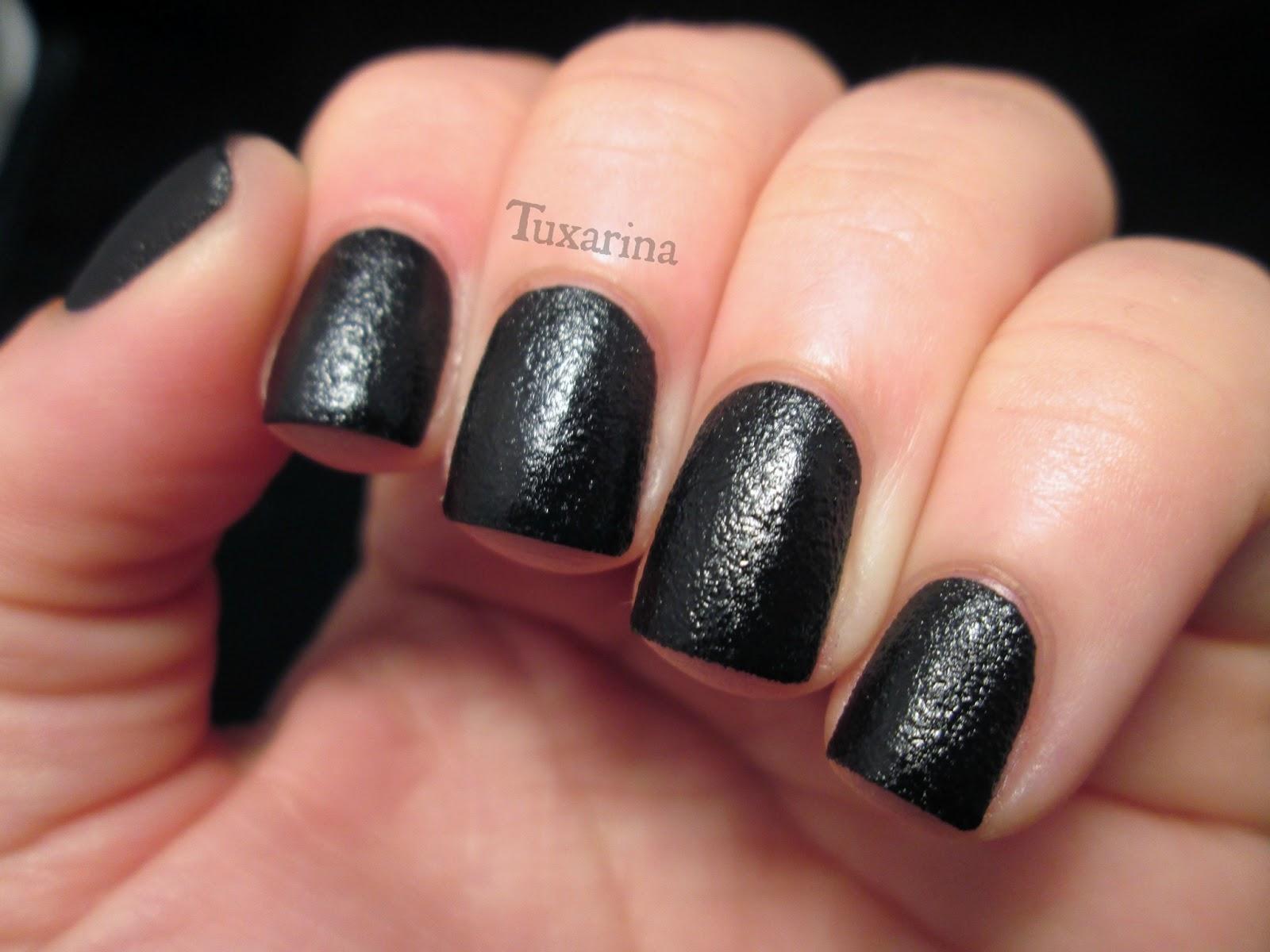Tuxarina: Nails Inc: Leather Effect Noho