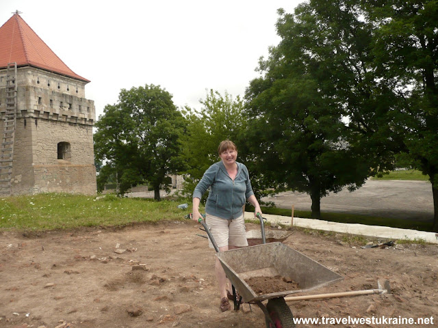 Medieval Castle Excavation in Skalat, Western Ukraine