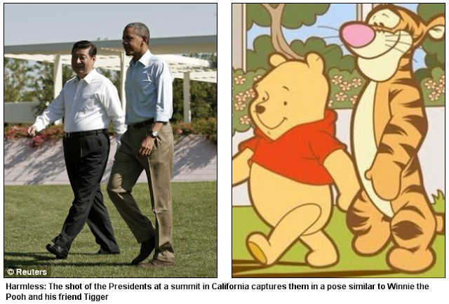 China Censors Winnie The Pooh From OnlineSearches After Photo Emerges Of President Xi Jinping That Makes Him Look Like