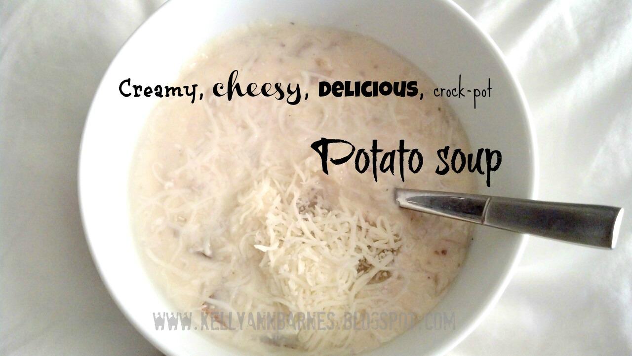 Pinterest-Perfect Potato Soup | Laugh out Loud