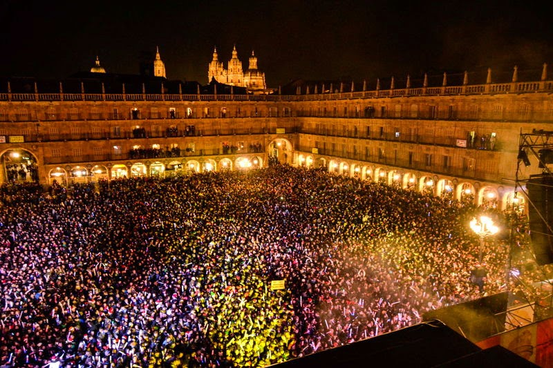 Nochevieja in spain