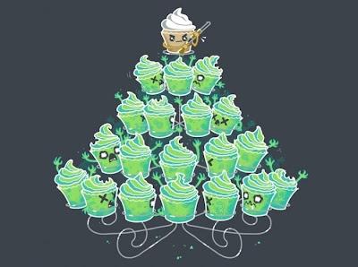 cupcake contra os zumbis
