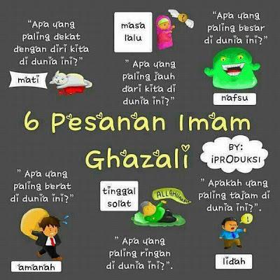 pesanan imam al ghazali