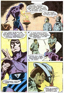 The Phantom v2 #71 charlton comic book page art by Don Newton