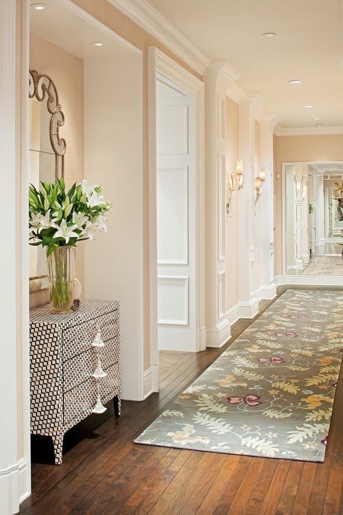 Wall Decor For End Of Hallway : Lee caroline a world of inspiration tips for decorating