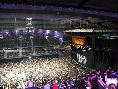 Palacio Deportes Madrid, KISS, 40th Anniversary,