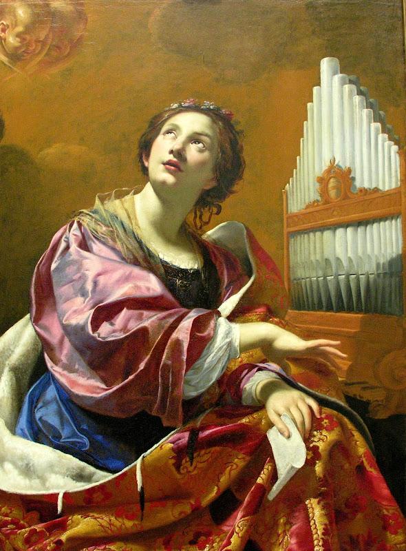 Simon Vouet - Saint Cecilia (1626)