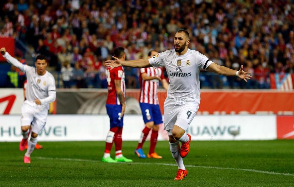 Atletico Madrid 1-1 Real Madrid, Skor Akhir Derby Berakhir Seri!!