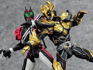 Bandai SIC Kiwami Tamashii Kamen Rider Kuuga Rising Ultimate Form figure