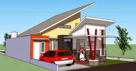 interior eksterior rumah minimalis: model atap rumah