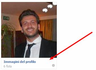 Rendere la foto profilo di Facebook non cliccabile