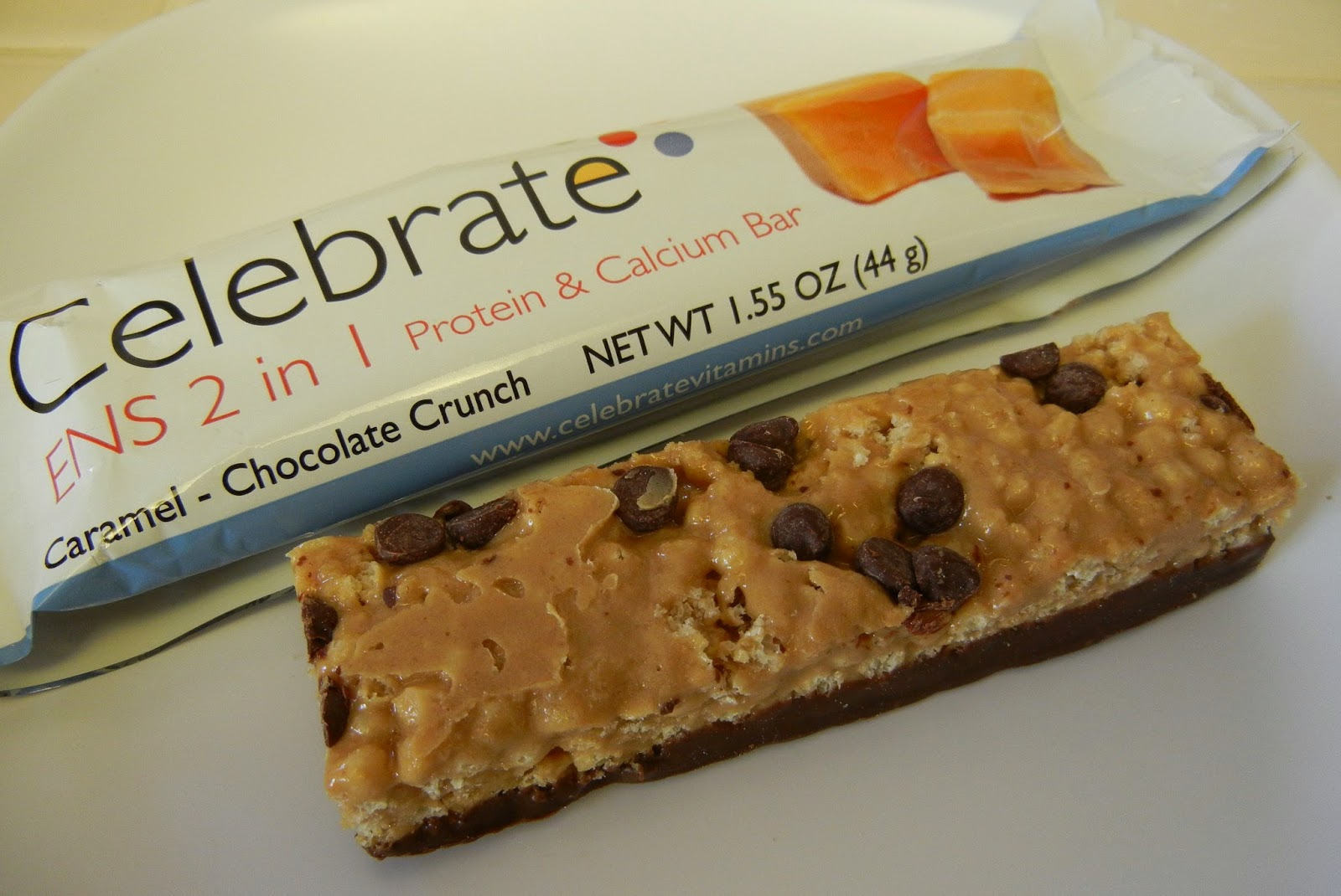 Celebrate+Vitamins+ENS+2+in+1+Protein+and+Calcium+Bar+Caramel+Chocolate+Crunch+Eggface Weight Loss Recipes Eggface and Celebrate Vitamins ENS 2 in 1 Protein Bar Giveaway