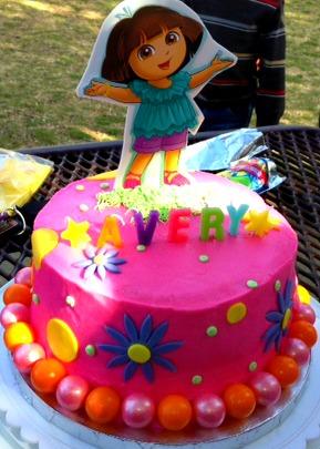 yourmodernhousewife Dora the Explorer cake How to