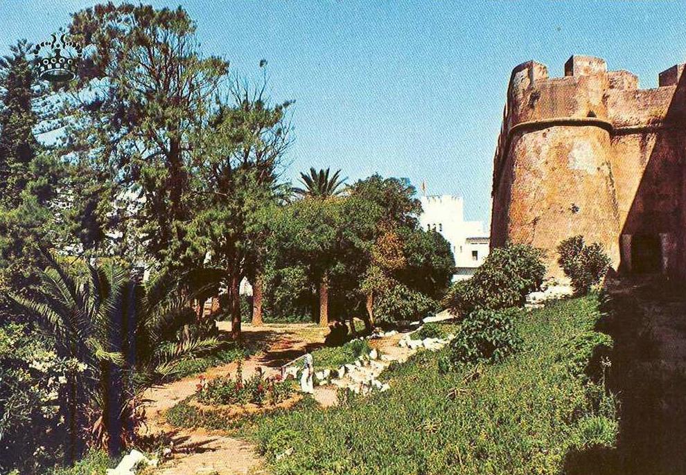 Historia de larache en fotos for Jardin hesperides