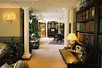 Een Klassiek Interieur : Interiur huis keuken: klassiek interieur