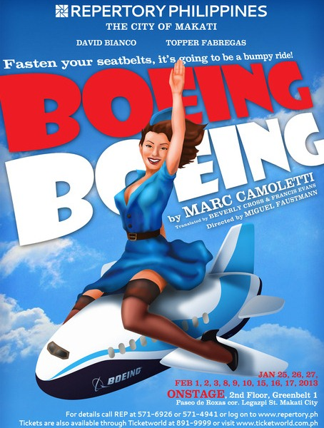 BWW Reviews: BOEING-BOEING by Repertory Philippines