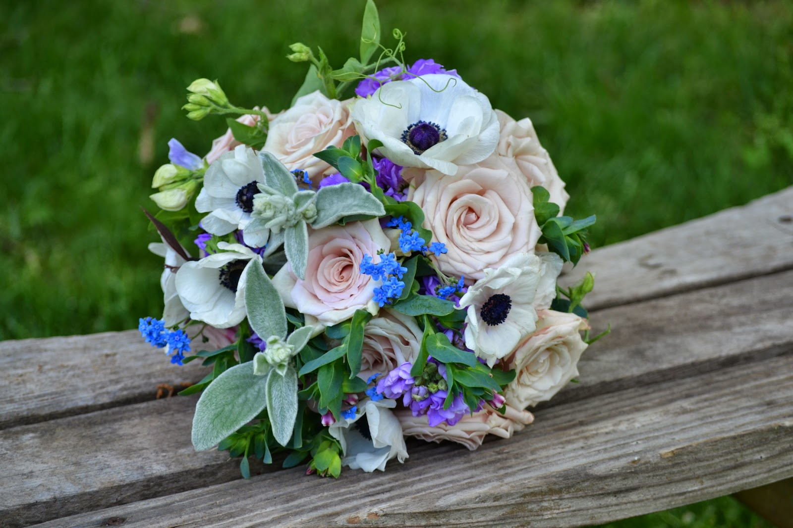 Wedding Flowers from Springwell: Blue Flowers for Late Spring and ...