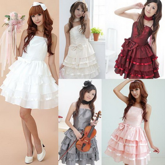 short junior dresses with bow