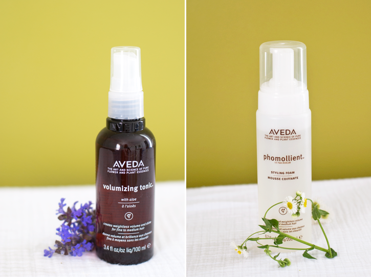 Aveda styling products