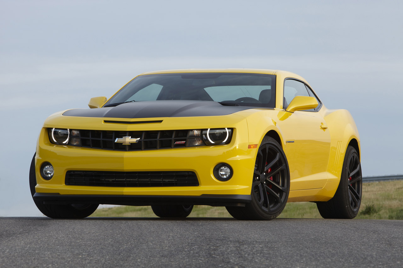 2013 Chevrolet Camaro 1LE yellow