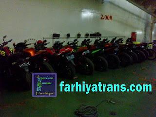 pengiriman sepeda motor dengan kapal pelni