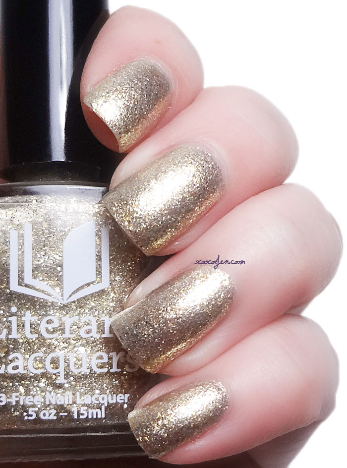 xoxoJen's swatch of Literary Lacquers Felix Felicis