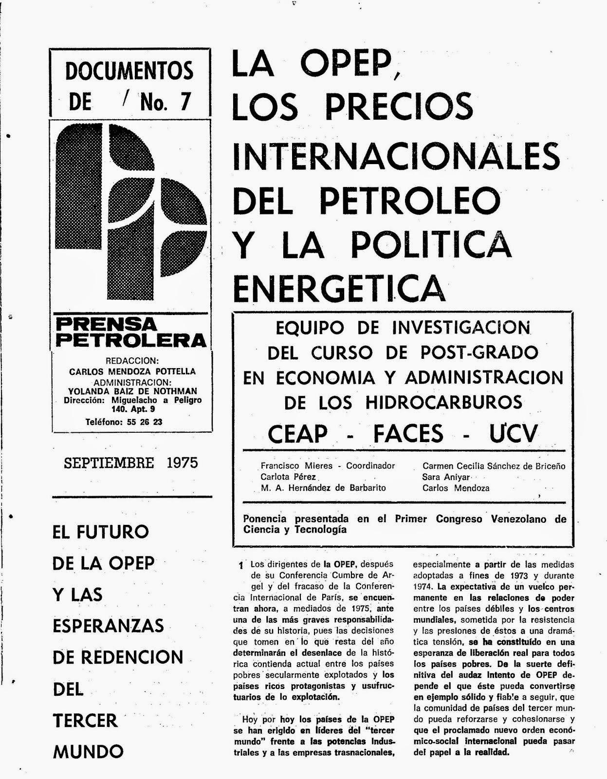 Documentos Nº 7 de Prensa Petrolers