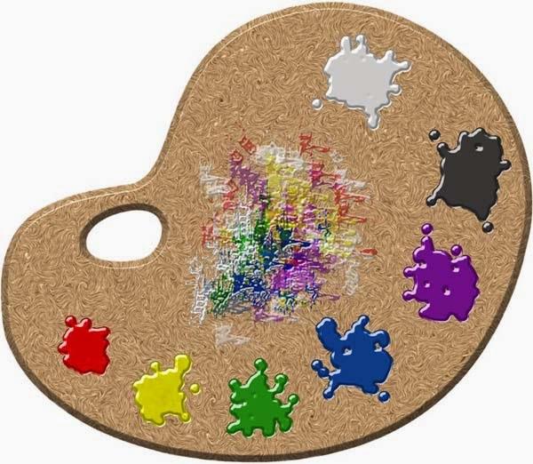 El arte de arantxa pintura al leo la paleta la - Paleta de colores pintura pared ...