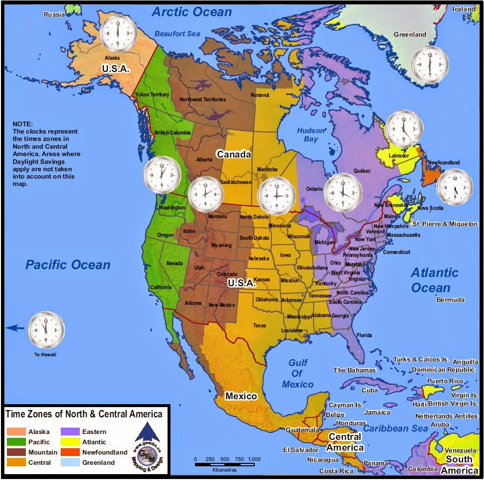 Martha Leah Nangalama WwwPerilOfAfricaCom NORTH AMERICA TIME - Us time zone map 2015
