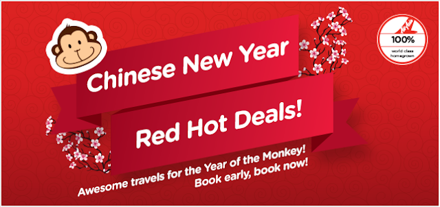 AirAsia Airlines: Chinese New Year Red Hot Deals