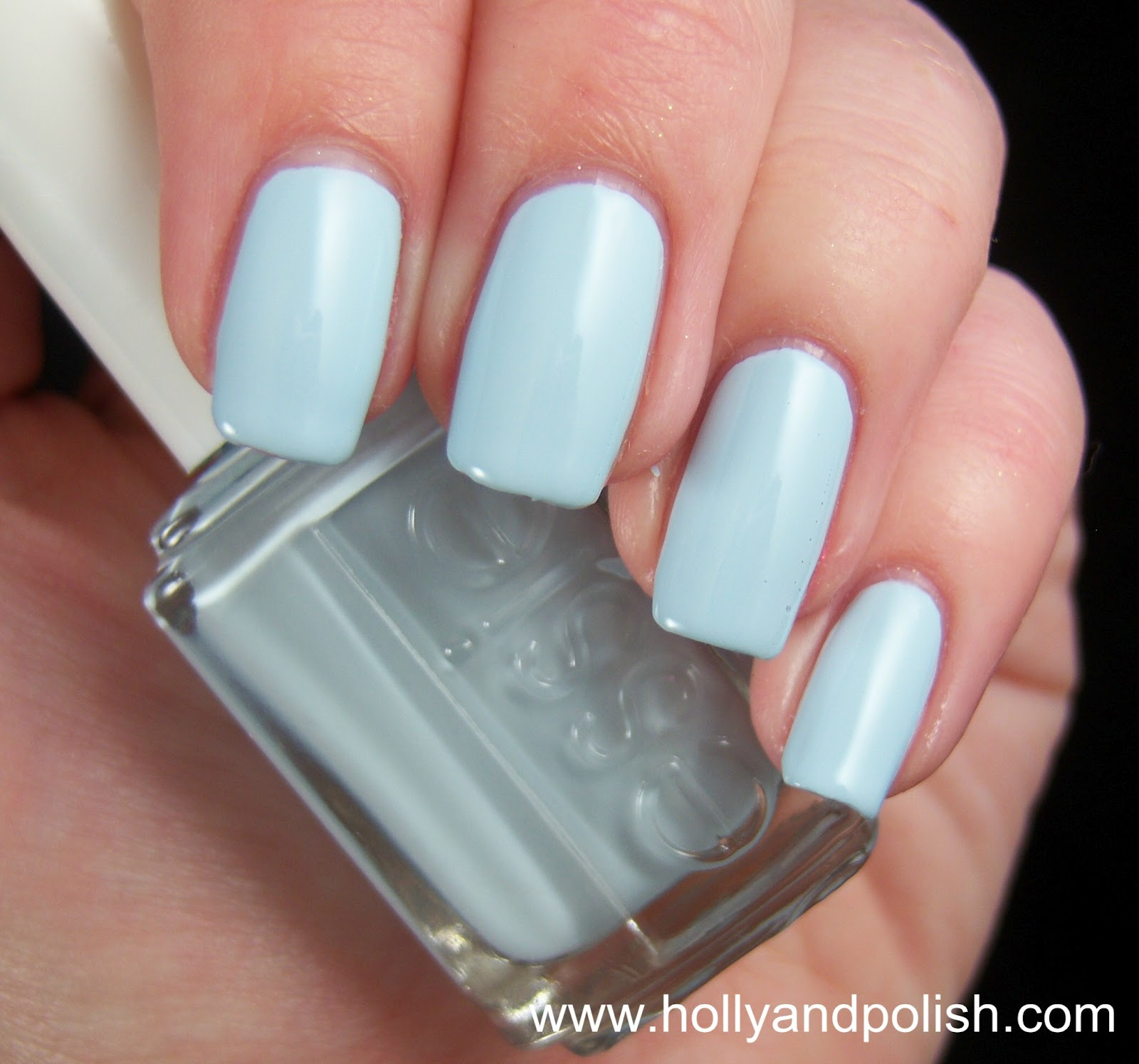 Holly and Polish: A Nail Polish and Beauty Blog: Essie Borrowed and Blue
