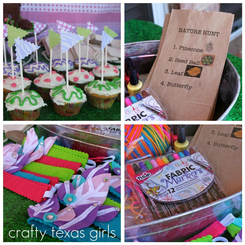 crafty texas girls camping u0027glamping u0027 party