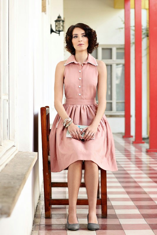 Scarlet and sterling the 1950s housewife style reimagined for