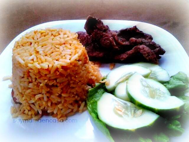 receta facil para hacer arroz frito casero