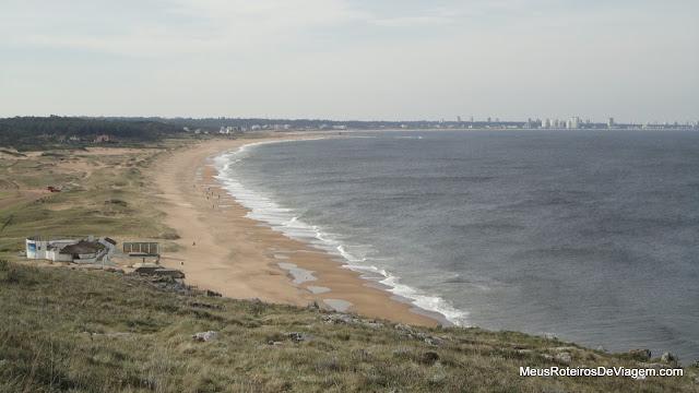Playa de las Grutas - Punta Ballena, Uruguai