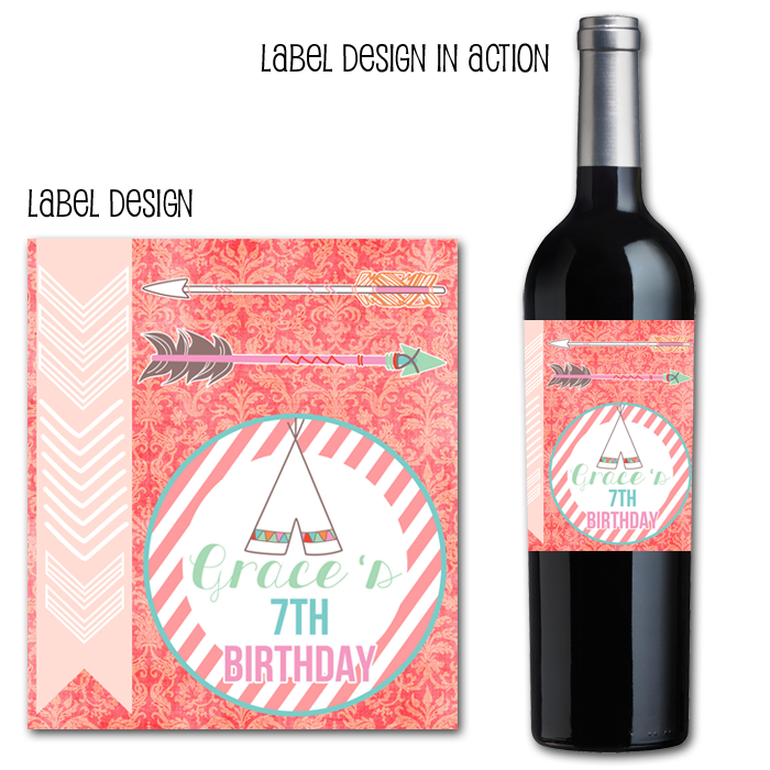 http://www.partyboxdesign.com/item_1543/Native-American-Princess-Wine-Label.htm