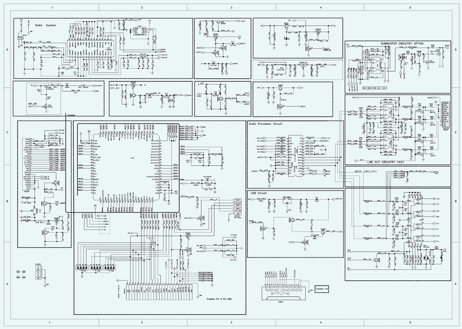 Cute Car Stereo Schematic Gallery - Electrical Circuit Diagram ...