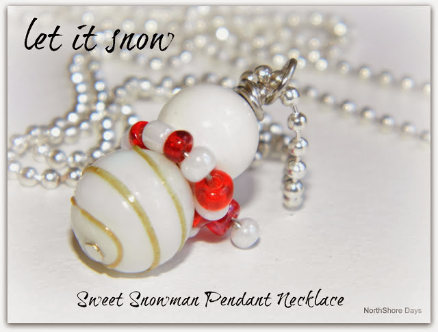 http://inspirationcafeic.blogspot.co.nz/2012/12/sweet-snowman-pendant-necklace.html