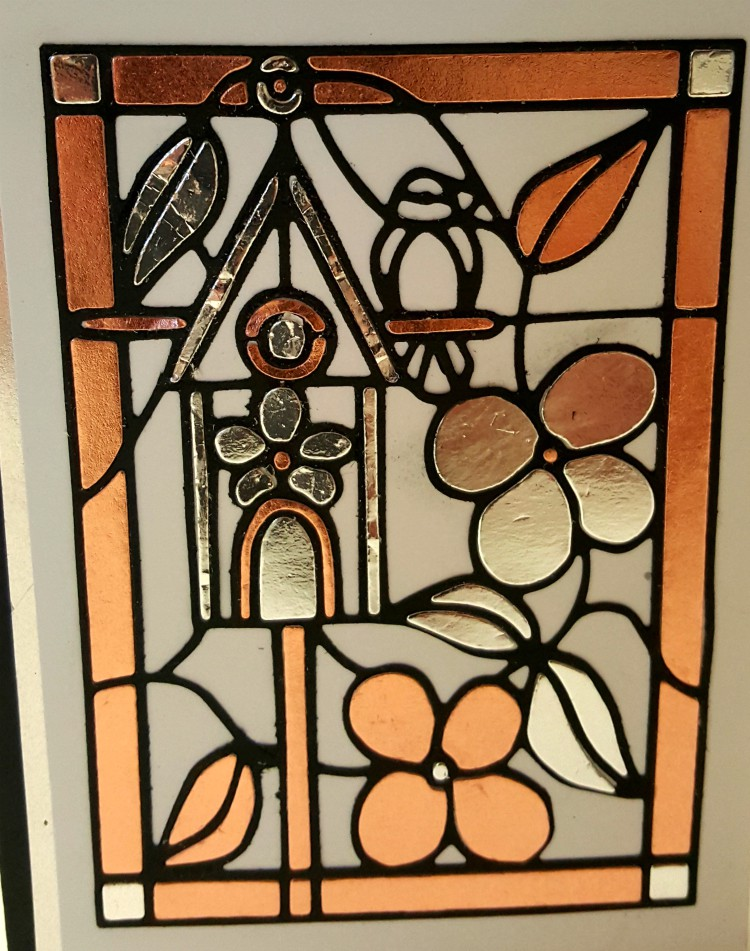 Stained glass dies