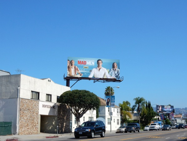 Mad Men Emmy 2015 billboard