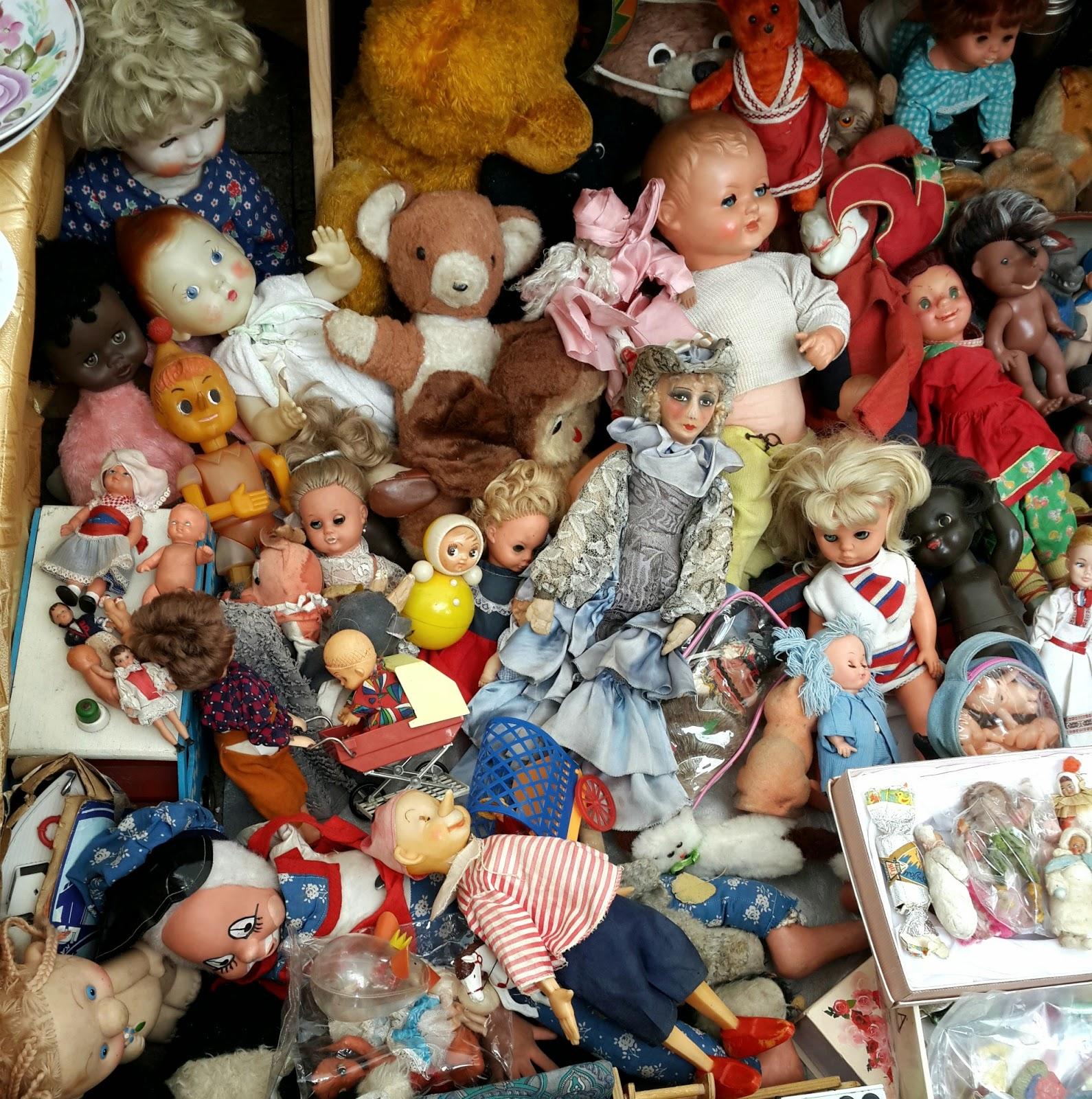 блошиный рынок, детство