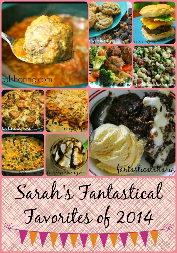 Hello, 2015! The Countdown to 2015 ends today with my absolute favorite Fantastical recipes of 2014 #favorite #Countdownto2015 #newyear #recipes