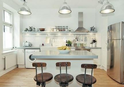 Programa tv dise o barras e islas para cocinas - Iluminacion de cocinas ...