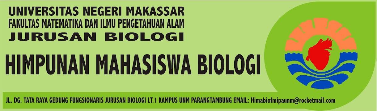 HIMPUNAN MAHASISWA BIOLOGI (HIMABIO) FMIPA UNM
