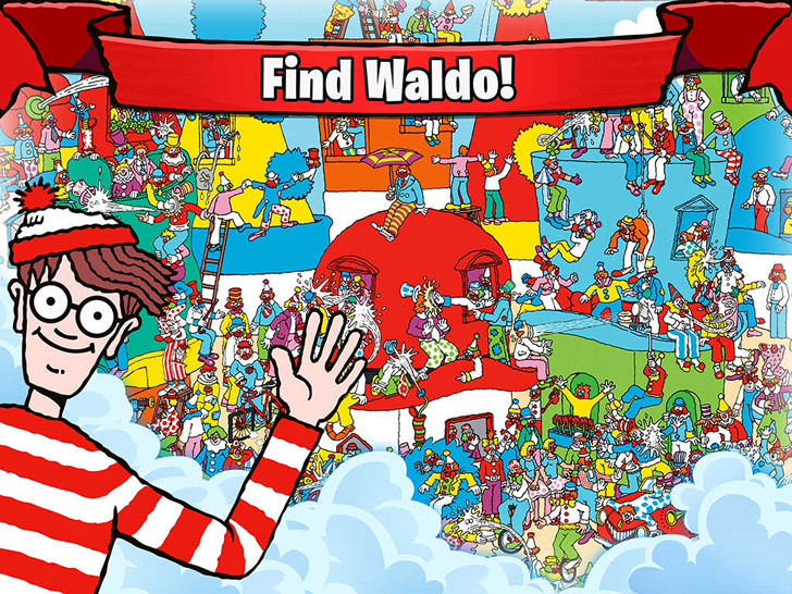 Waldo & Friends Free App Game By Ludia