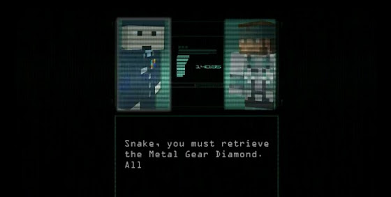 Metal gear minecraft