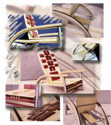 Furniture design: Chair by Emir