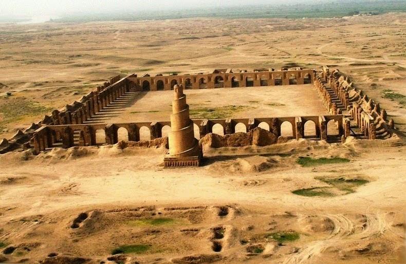 Kota Samarra, Buah Karya Enam Khalifah