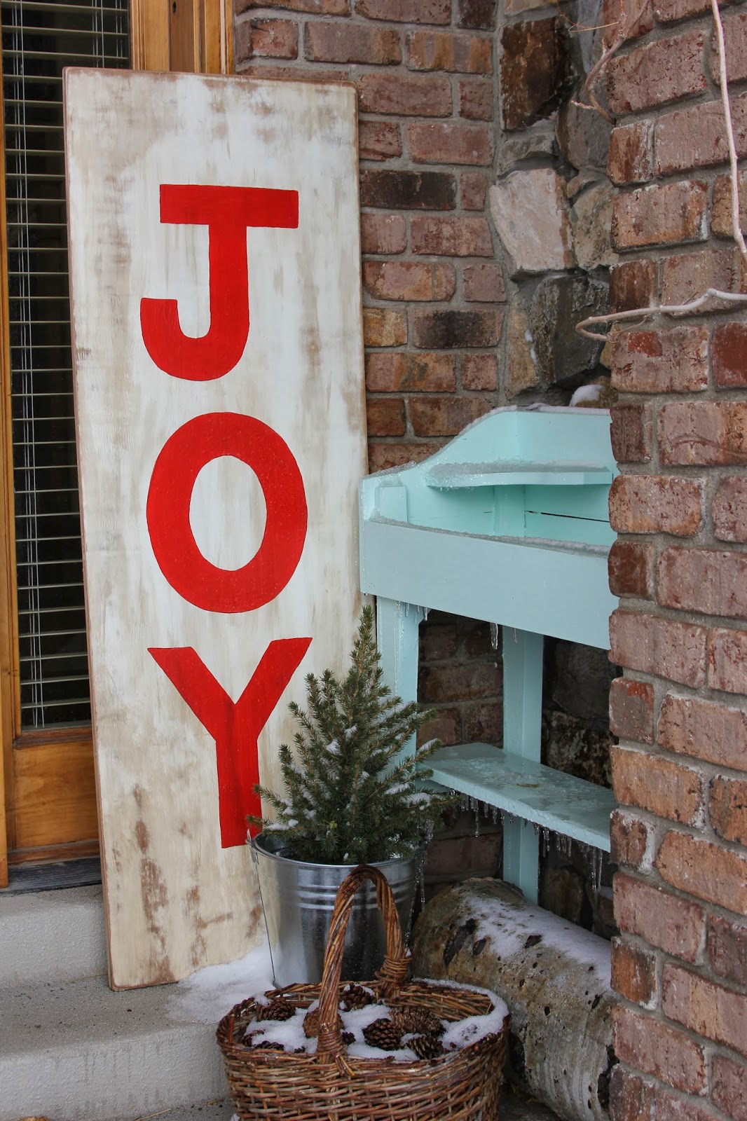 Time of Our Lives: JOY Christmas Sign